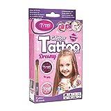 Tytoo Glitzertattoo Set für Mädchen mit 15 Schablonen- hypoallergen und hält bis zu 18 Tage - 100% Geld-zurück-Garant