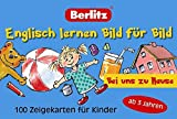Englisch lernen Bild für Bild - Bei uns zu Hause - 100 Zeigekarten: 100 Zeigekarten für Kinder ab 3 Jahren (Berlitz... lernen Bild für Bild)