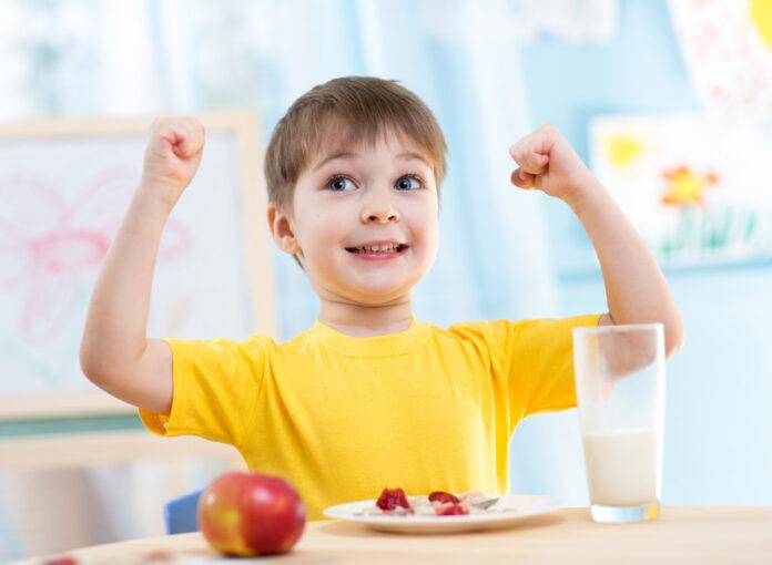 Die meisten Kinder lieben Milch