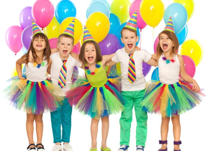 Mottoparty für den Kindergeburtstag