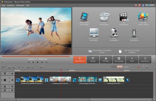 Schöne Erinnerungen schaffen: Familienvideo in 3 Schritten perfektionieren / movavi video editor