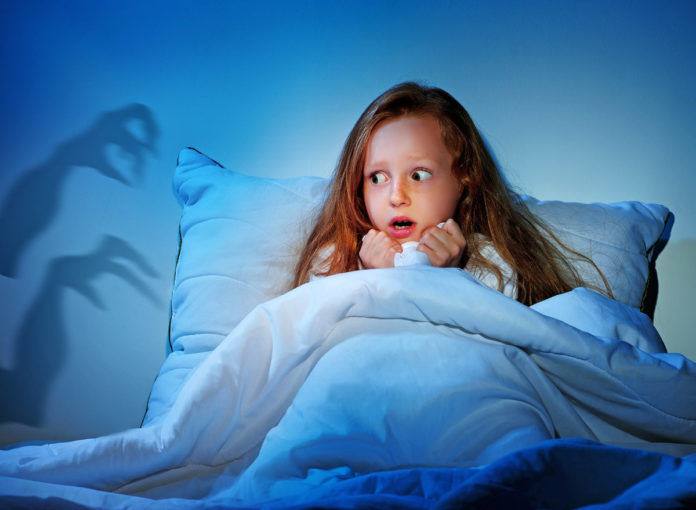 Fast jedes Kind hat Angst vor Monster im Schrank