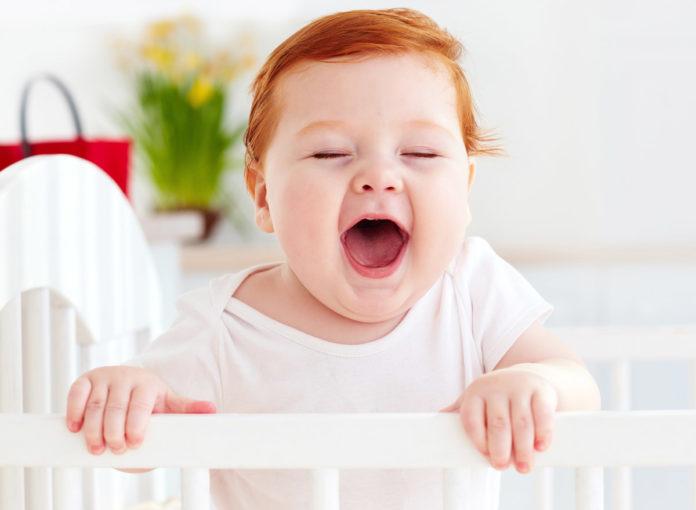 Dein Baby blinzelt nicht?