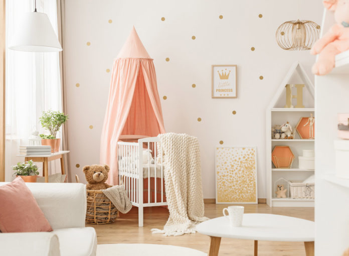 Das Babyzimmer einrichten macht Spaß