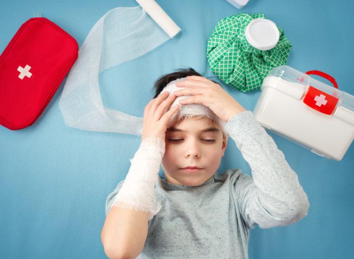 Gehirnerschütterung Symptome Kind