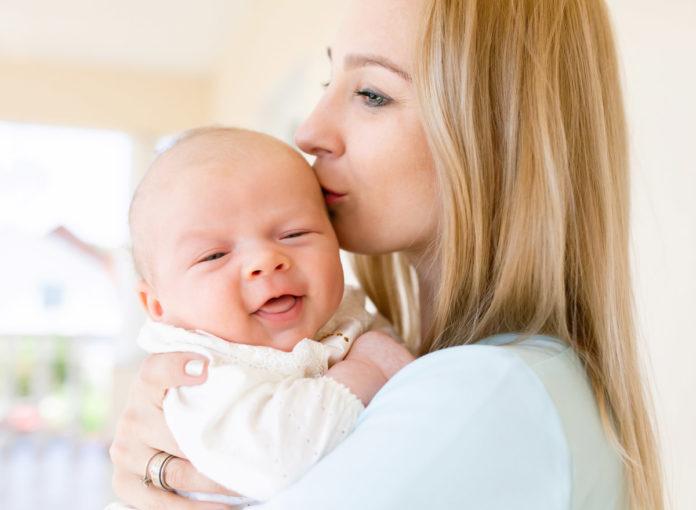 Muttertag Geschenke vom Baby