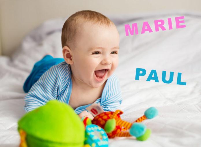 Die beliebtesten Babynamen 2018 sind Marie und Paul