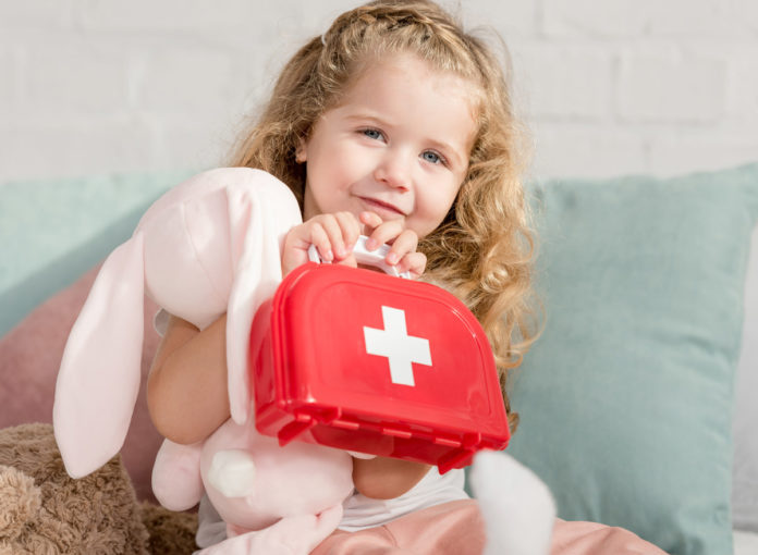 Unfall Erste Hilfe beim Kind