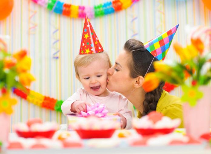 1. Geburtstag Baby