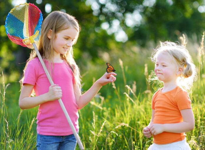 Insektenfreundlicher Garten mit Kindern