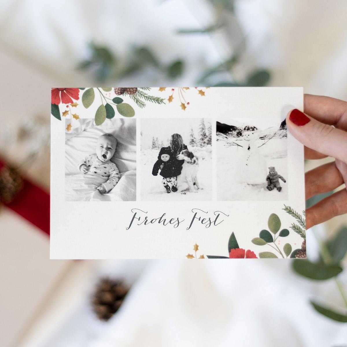 Daphne Weihnachtskarte von Rosemood