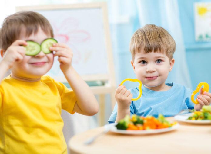 Gesunde Ernährung ist wichtig für Kinder