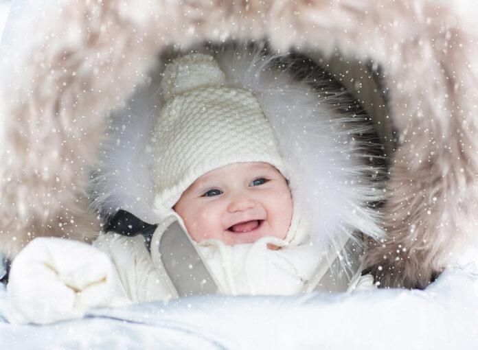 Erster Spaziergang mit dem Baby - egal bei welchen Wetter