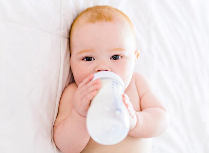 Ziegenmilch für Babys und Kinder ist gesund