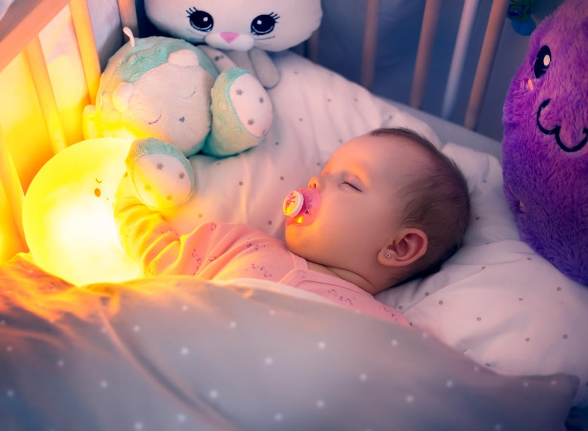LED Nachtlichter für Kinder bringen die Kinder zur Ruhe
